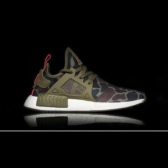 brand new 651f4 e1811 Adidas NMD XR1 Olive duck Camo
